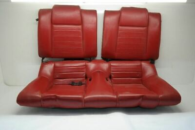 $583.20 • Buy 2005-2009 Ford Mustang Rear Seat Set Red