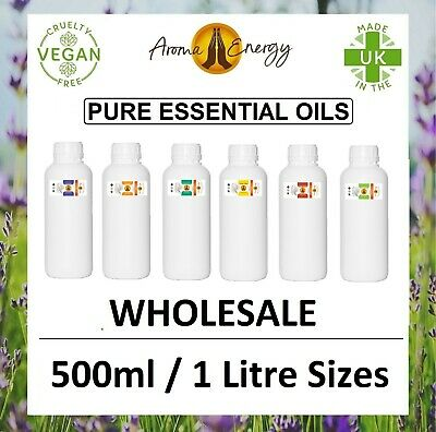 AU108.83 • Buy Essential Oils - 500ml / 1 Litre - For Aromatherapy Pure Essential Oil Fragrance
