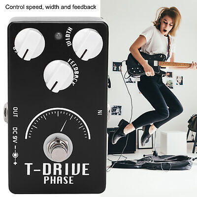 $ CDN52.89 • Buy Guitar Phaser Pedal Kit Electric Analog Phase Shifter Effect Instrument Parts