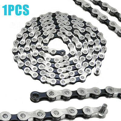 AU12.79 • Buy Stainless Steel Bicycle Chain 8/24 Speed 116 Link Mountain Bike For Shimano IG51