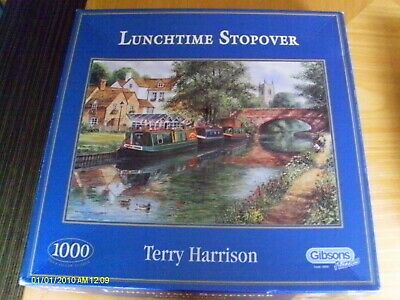 £6 • Buy Gibsons - Lunchtime Stopover - Terry Harrison - 1000 Pieces