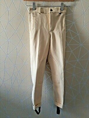 £9.99 • Buy  Girls Yellow Riding Trousers Jodphurs Double Horse Size Childs 20 R