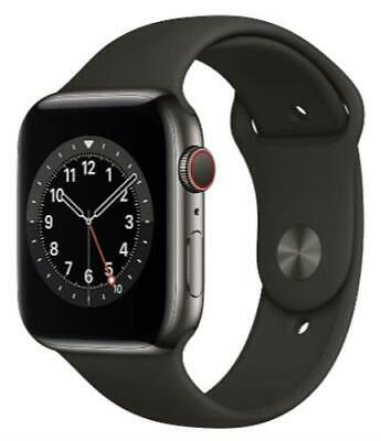 $ CDN724.99 • Buy Apple Watch Series 6 M07Q3VC/A 44mm Graphite Stainless Steel