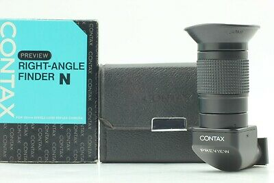$ CDN58.22 • Buy [Mint In Box] Contax Right Angle Finder N For Aria RTS II From Japan #125