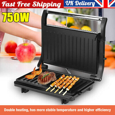 £22.39 • Buy 750W Deep Fill Sandwich Toaster Toastie Maker Meat Non Stick Stainless Steel Pan