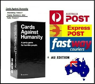 AU24.95 • Buy Cards Against Humanity Au Version Main Base Set Free Fast Delivery