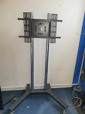 £50 • Buy Mobile TV Stand On Wheels (Casters) TV NOT INCLUDED JUST FOR DEMO PURPOSE