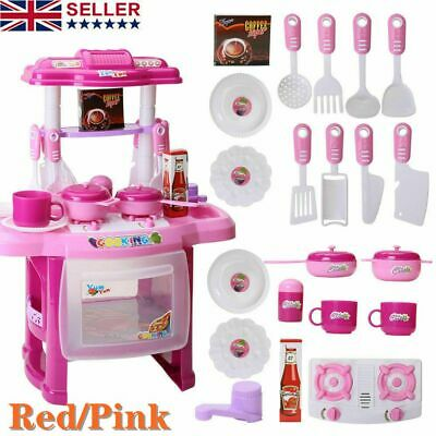 £15.99 • Buy Electronic Children Kids Kitchen Cooking Toy Portable Girls Cooker Play Set Gift