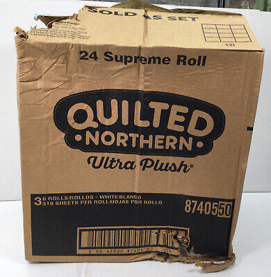 $ CDN41.23 • Buy Quilted Northern, Ultra Plush 24 Supreme Rolls