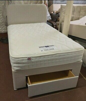 £295 • Buy Small Double Bed (4ft) - Rest Assured, The ÉLOQUENCE Collection Mattress &1 Draw
