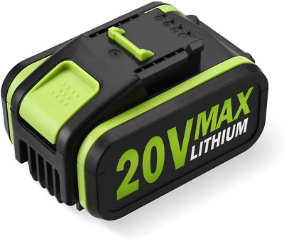 £43.37 • Buy Powerextra 4.0Ah 20V Lithium Ion Replacement Battery For Worx WA3551 WA3551.1