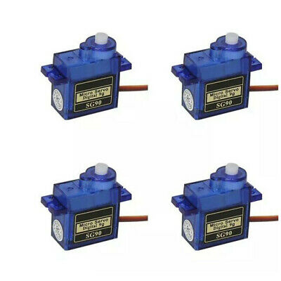AU9.99 • Buy 4x 9G SG90 Micro Servo Motor For RC Robot Helicopter Airplane Aircraf Car Boat A