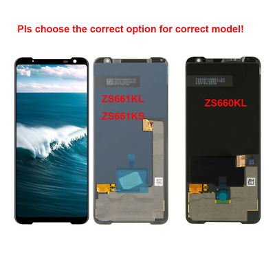 AU377.42 • Buy OEM For ASUS ROG Phone 3 ZS661KL I Phone II 2 ZS660KL Lcd Display Touch Screen