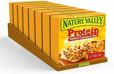 £28.58 • Buy Nature Valley Protein Salted Caramel Nut ✅ 32 Cereal Bars ✅ Gluten Free ✅ UK