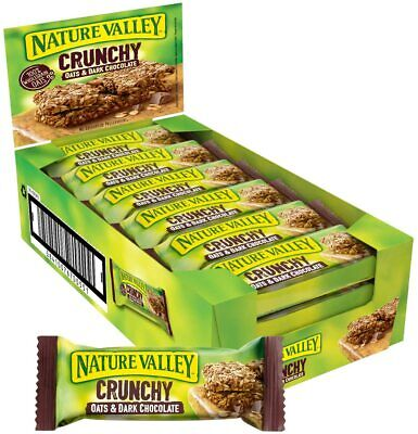 £14.55 • Buy Nature Valley Crunchy Oats And Chocolate Cereal Bars 18 X 42g ✅ Original ✅ UK