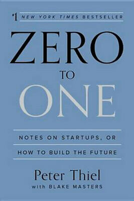 AU43.50 • Buy NEW Zero To One By Peter Thiel Hardcover Free Shipping