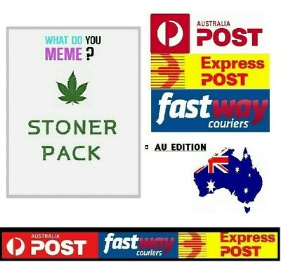 AU14.95 • Buy What Do You Meme Game Stoner Expansion Fast Delivery