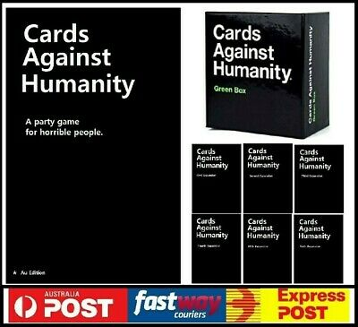 AU42.95 • Buy Cards Against Humanity Main Base + Green +all Expansion 1,2,3,4,5,6