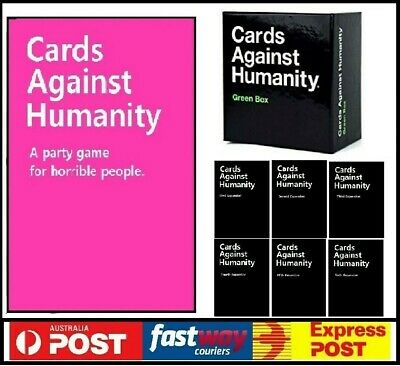 AU35.95 • Buy Cards Against Humanity Pink+ All Expansion 1~6 + Green  Fast Delivery Au Stock