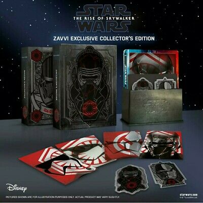 AU98.99 • Buy Star Wars The Rise Of Skywalker - 3d - Collector's Edition - Steelbook Blu Ray