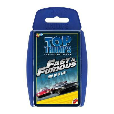 £5.95 • Buy Official Fast And Furious Top Trumps Playing Card Game New And Boxed