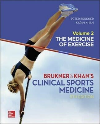 £67.31 • Buy Clinical Sports Medicine The Medicine Of