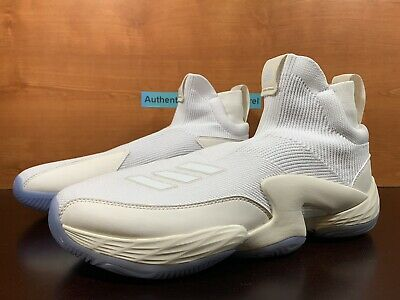 AU142.03 • Buy Adidas N3XT L3V3L 2020 White Laceless Basketball Sneakers Men's Size 12.5 FW8577