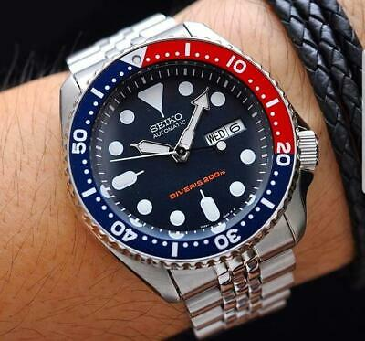 $ CDN432.07 • Buy Seiko SKX009 K2 Jubillee PEPSI Watch Automatic 200m Diver Scuba Diving SKX A1
