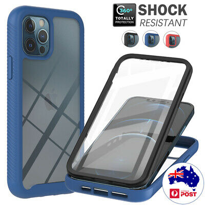 AU14.99 • Buy For IPhone 12 11 Pro Max 8 7 SE 2020 Case Clear Bumper Shockproof 360 Full Cover