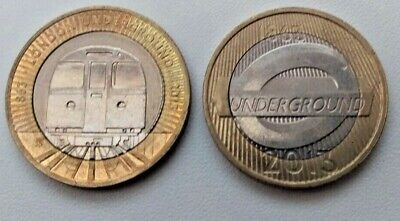 2013 London Underground Set £2 Two Pound Coin Circulated  • 3.99£