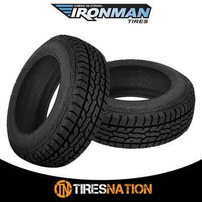 $224.27 • Buy (2) New Ironman All Country A/T 235/75/15 109T All Terrain Truck SUV Tire