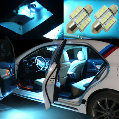 $1.90 • Buy 2PC Car Interior Roof Dome Map Door Light 12SMD LED DE3172 Bulb Parts Universal