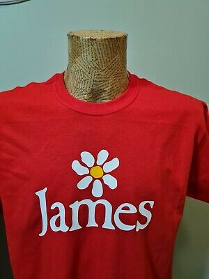 £10.99 • Buy James T Shirt Tim Booth The Band 1990 Style Tee Retro 90s Madchester Come Home