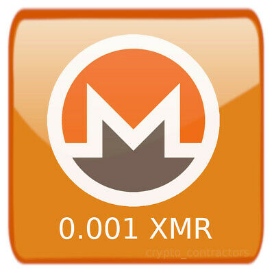 $2.25 • Buy 0.001 XMR Monero Crypto Currency Blockchain Transaction