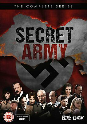 £46.13 • Buy SECRET ARMY Complete Series 1-3 DVD Set NEW (Region 2 - Not USA Compatible)