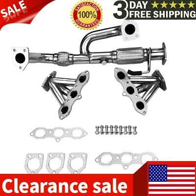 $135.99 • Buy S/s EXHAUST MANIFOLD HEADER W/Gasket FOR 98-02 ACCORD 3.0 V6/99-03 TL/CL J30A1