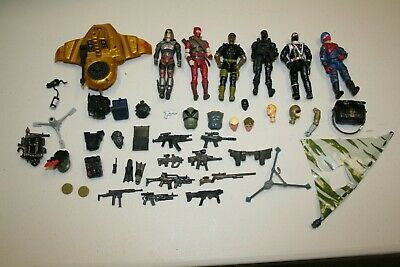 $ CDN13.81 • Buy GI JOE HUGE LOT Vintage 3 3/4  Original Weapons Guns Cobra Heads Viper Serpentor