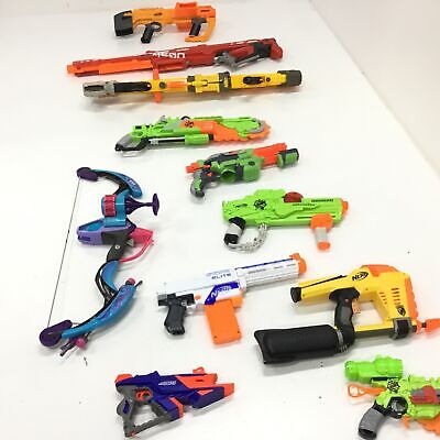 AU9.99 • Buy Assorted Bulk Nerf Toys Untested Parts Only & Accessories PICKUP ONLY VIC #452