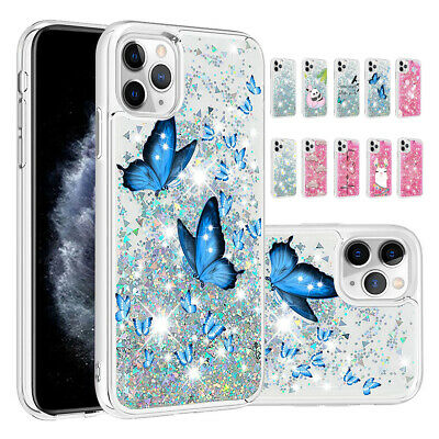 AU10.82 • Buy For IPhone 12 11 Pro Max XR XS SE2 8 7 6 Plus Clear Glitter Bling TPU Case Cover
