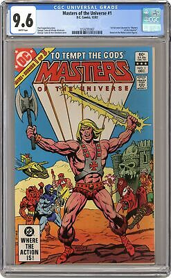 $265 • Buy Masters Of The Universe #1 CGC 9.6 1982 3724701007