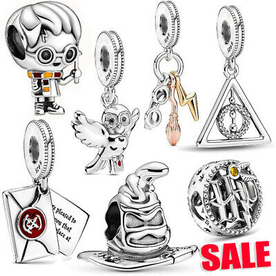£9.41 • Buy New Gift Harry Potter Collection Charm Pandora 925 Sterling Silver Charm Gift
