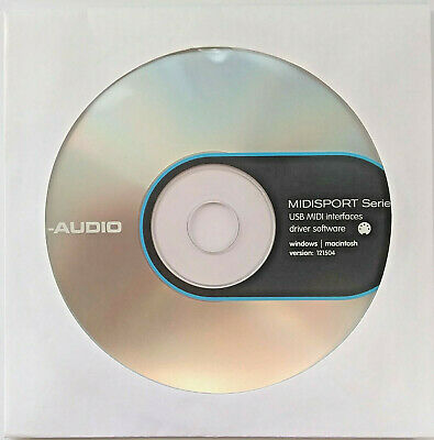 $4.99 • Buy Midisport M-Audio UNO CD-ROM Software Disk For The UNO USB To Midi Link Cable.