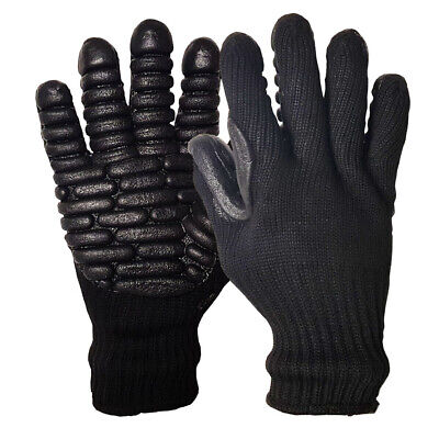 £9.49 • Buy Anti Vibration Gloves Work Power Tools Shock Protect Vibration Reducing Gloves
