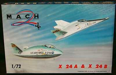 $34.99 • Buy Mach 2 Models 1/72 MARTIN X-24A AND X-24B Two Models!