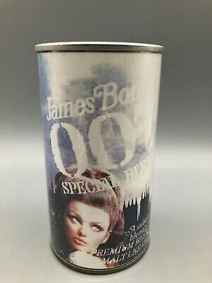 $12.50 • Buy NICE James BOND 007 Replica Paper Label 12oz Pull Tab Beer Can National Brew Co.