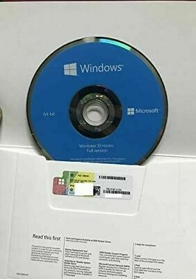 $ CDN35.04 • Buy   WlNDOWS 10 Home X64 Bit & Genuine Product Key Sticker NEWEST VERSION