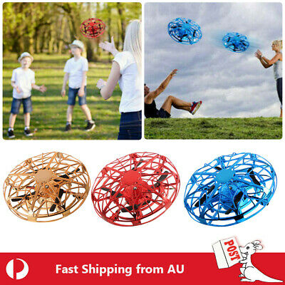 AU13.69 • Buy 360° Mini Drone Smart UFO Aircraft For Kids Flying Toy RC Hand Control Xmas Gift