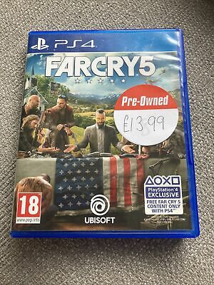 AU19.61 • Buy Far Cry 5 (PS4). Used, Good Condition.