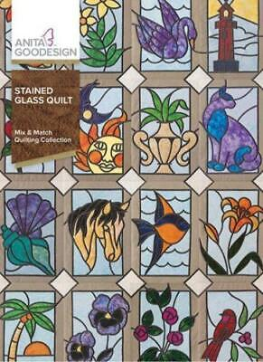 $13.99 • Buy Stained Glass Quilt Anita Goodesign Embroidery Design Machine CD