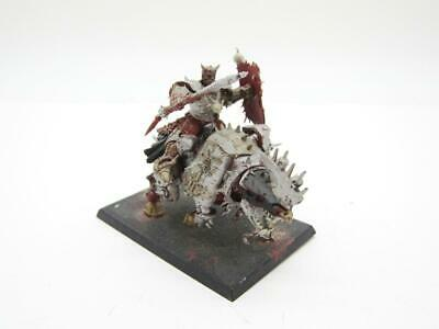 AU1.78 • Buy (3609) Blood Crusher Of Khorne Chaos Age Of Sigmar Fantasy Warhammer